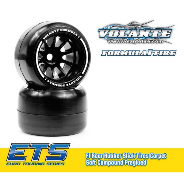 VOLANTE F1 Rear Tires Carpet Soft - ETS